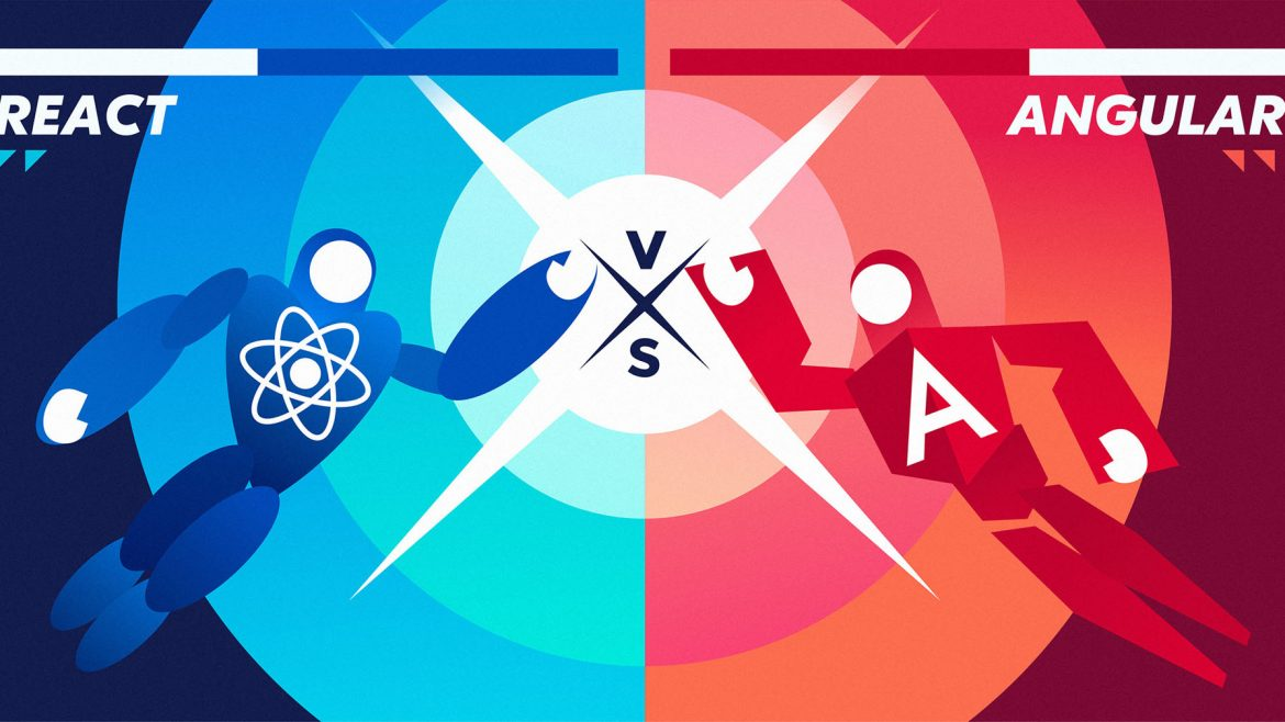 Angular Vs. React JS –  Which one is better for  Mobile Development