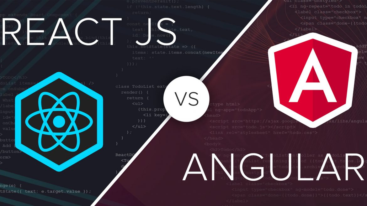 React Vs Angular – What  Are the Differences?