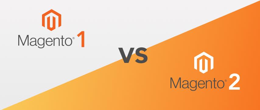 A Comparison between  Magento 1 Vs Magento 2